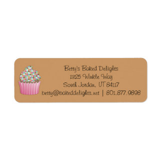 Cupcake Business Labels