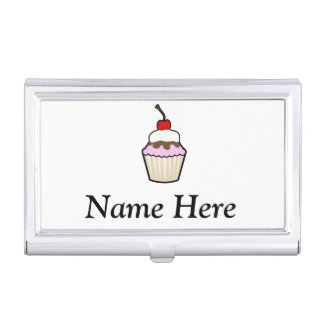 Cupcake Business Card Cases
