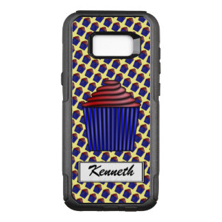 Cupcake by Kenneth Yoncich OtterBox Commuter Samsung Galaxy S8+ Case