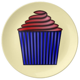 Cupcake by Kenneth Yoncich Plate