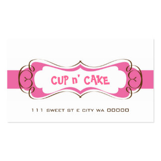 Cupcake, Cake, Bakery Business Card