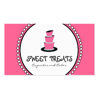 Cupcake Cake Bakery Business Cards