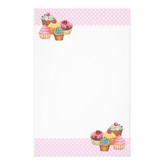Cupcake Cake Pastries Stationery