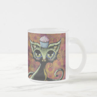 Cupcake Cat Frosted Mug