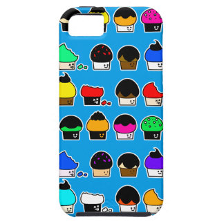 Cupcake Cavalcade – Colorful Repeating Pattern iPhone 5 Cover