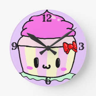 """""""CUPCAKE"""" CLOCK FOR """"YOUR CUPCAKE"""" WITH NUMBERS"""
