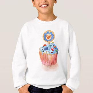 Cupcake Collection Blue Sweatshirt