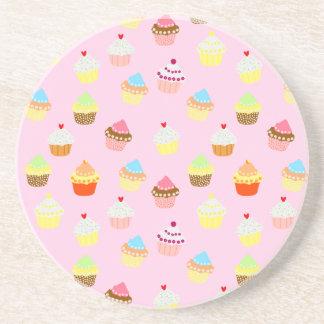 Cupcake Confetti Coaster