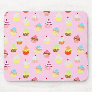 Cupcake Confetti Mouse Pad
