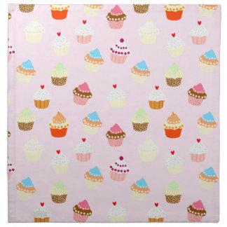 Cupcake Confetti Napkin