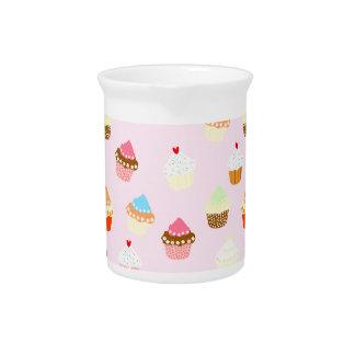 Cupcake Confetti Pitcher