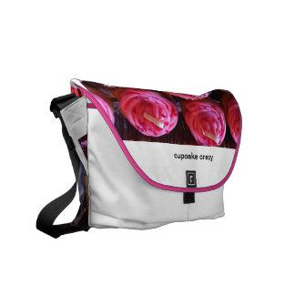cupcake crazy bag courier bag