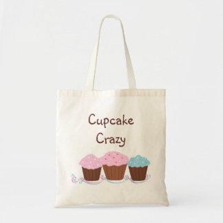 Cupcake Crazy Budget Tote Bag
