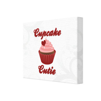 Cupcake Cutie Gallery Wrapped Canvas