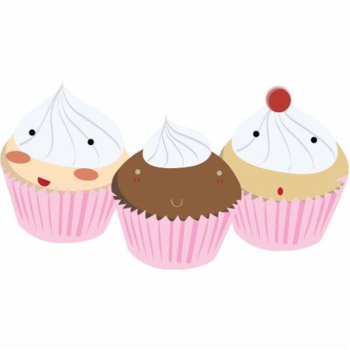 Cupcake Cuties! Photo Cutout