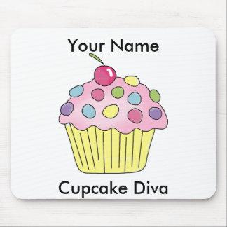 Cupcake Diva Mousepad