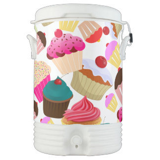 cupcake drinks cooler