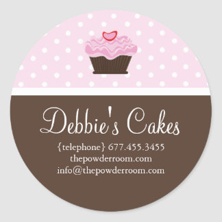 Cupcake Envelope Seal Stickers