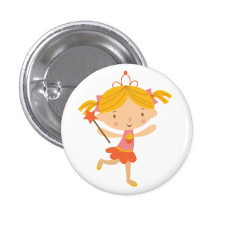Cupcake Fairy 3 Cm Round Badge