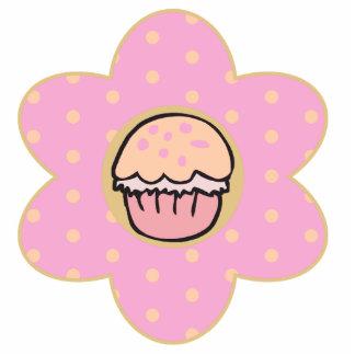 Cupcake Flower Photo Sculpture