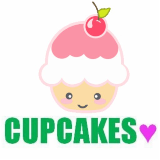 Cupcake Girlzz - Customized Acrylic Cut Outs