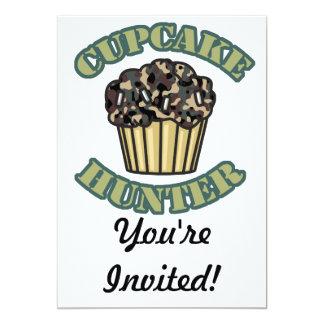 Cupcake Hunter 13 Cm X 18 Cm Invitation Card