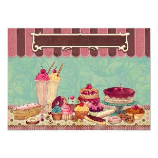 Cupcake & Ice Cream Party Invitation