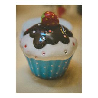Cupcake Custom Invite