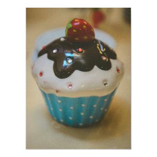 Cupcake 6.5x8.75 Paper Invitation Card