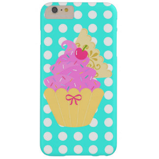 Cupcake iPhone case! Polka-Dot Barely There iPhone 6 Plus Case