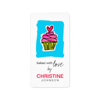 Cupcake Kitchen Labels