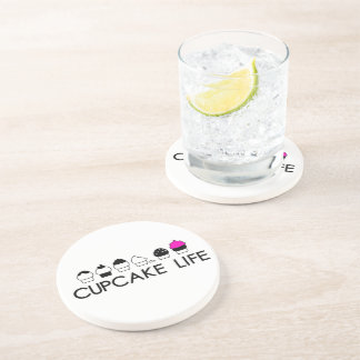 Cupcake Life Coaster