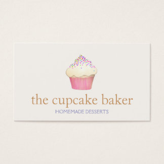 Cupcake Logo Bakery Chef Catering