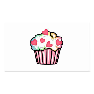 Cupcake Love Pack Of Standard Business Cards