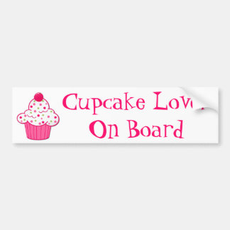 Cupcake Lover Bumper Sticker