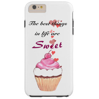 Cupcake Lover Tough iPhone 6 Plus Case