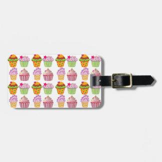Cupcake Luggage Tag