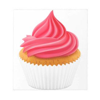cupcake notepad