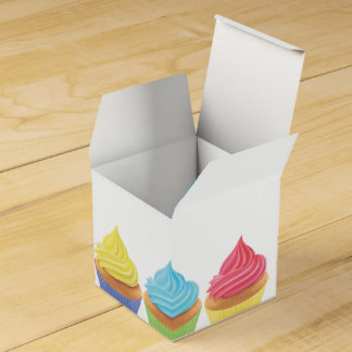 Cupcake Party Favour Box