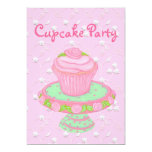 Cupcake Party Invitation Cards~Personalise!