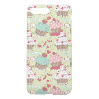 Cupcake pattern iPhone 7 plus case
