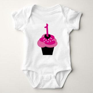 Cupcake Personalized Shirt First Birthday