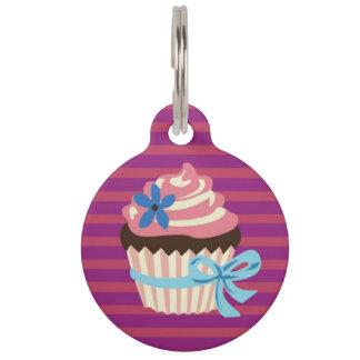 Cupcake Pet ID Tag