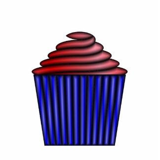 Cupcake Photo Sculpture Key Ring