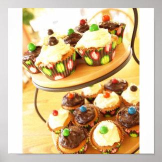 Cupcake Photograph Poster