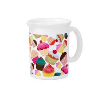 cupcake pitcher