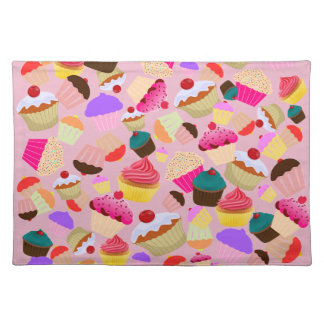 cupcake placemat