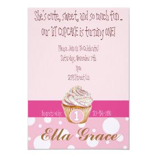 Cupcake & Polka Dots Card