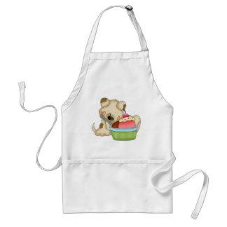 Cupcake Puppy Sweet Treat apron