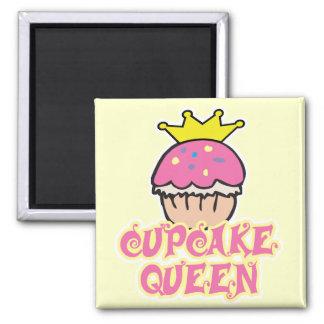 Cupcake Queen Square Magnet
